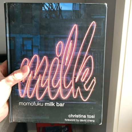 milk bar cookbook