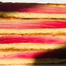 Rhubarb Slice